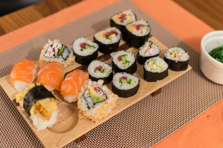 Sushi home made
